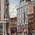 New York Stock Exchange In 1882 by Everett