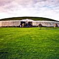 Newgrange Morning by Douglas Barnett