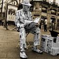 Newspaper Man by Rob Hawkins