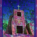 Night Magic San Miguel Mission by Kurt Van Wagner