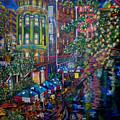 Night On The River by Patti Schermerhorn