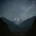 Nilgiri South (6839 M) by Anton Jankovoy