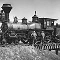 No. 120 Early Railroad Locomotive by Daniel Hagerman