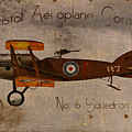 No. 6 Squadron Bristol Aeroplane Company by Cinema Photography