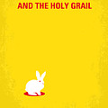 No036 My Monty Python And The Holy Grail Minimal Movie Poster by Chungkong Art