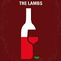 No078 My Silence Of The Lamb Minimal Movie Poster by Chungkong Art