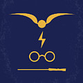 No101 My Harry Potter Minimal Movie Poster by Chungkong Art