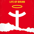 No182 My Monty Python Life Of Brian Minimal Movie Poster by Chungkong Art