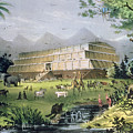 Noahs Ark by Currier and Ives
