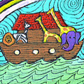 Noahs Ark Two by Wayne Potrafka