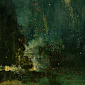 Nocturne In Black And Gold - The Falling Rocket by James Abbott McNeill Whistler