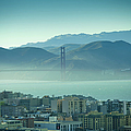 North Beach And Golden Gate by Hal Bergman Photography