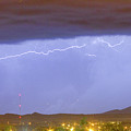 Northern Colorado Rocky Mountain Front Range Lightning Storm  by James BO  Insogna