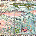 Northwest Fish Mural by Dy Witt