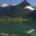Norway, Briksdal Glacier At Jostedal by Keenpress