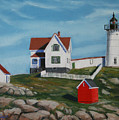 Nubble Light House by Paul Walsh