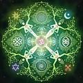 Numinosity Mandala by Cristina McAllister