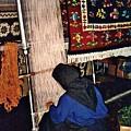 Nun Knotting Carpet by Sarah Loft