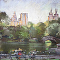 Nyc Resting In Central Park by Ylli Haruni