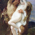 Nymph Abducted By A Faun by Alexandre Cabanel