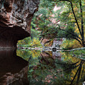 Oak Creek Canyon Reflections by Dave Dilli