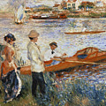 Oarsmen At Chatou by Pierre Auguste Renoir