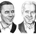 Obama Biden by Murphy Elliott
