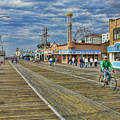 Ocean City Boardwalk by Edward Sobuta