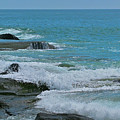 Ocean Roll by Debra     Vatalaro