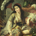 Odalisque by Jean Baptiste Ange Tissier