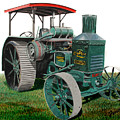 Oil Pull Tractor by Ferrel Cordle