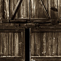 Old Barn Door - Toned by Paul W Faust -  Impressions of Light