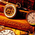 Old Books And Pocket Watches by Garry Gay