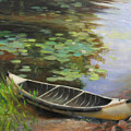Old Canoe by Anna Rose Bain