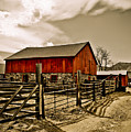 Old Country Farm by Marilyn Hunt