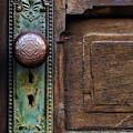 Old Door Knob by Joanne Coyle