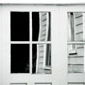 Old Garage Door by Bonnie Bruno