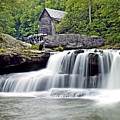 Old Grist Mill In Babcock State Park West Virginia by Brendan Reals