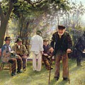 Old Men In Rockingham Park by Walter Bonner Gash