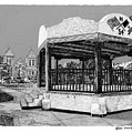 Old Mesilla Plaza And Gazebo by Jack Pumphrey