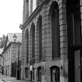 Old Montreal Street Scene by Reb Frost