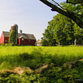Old New England Farm by Elzire S