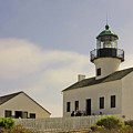 Old Point Loma Lighthouse - Cabrillo National Monument San Diego Ca by Christine Till
