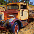 Old Rusting Flatbed Truck by Garry Gay
