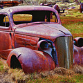 Old Rusty Car Bodie Ghost Town by Garry Gay