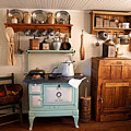Old Time Farmhouse Kitchen by Carmen Del Valle