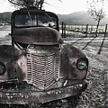 Old Truck In Napa Valley by George Oze