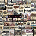 Old Vienna Collage by Janos Kovac