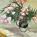 Oleanders And Books by Vincent van Gogh