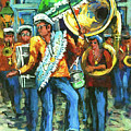 Olympia Brass Band by Dianne Parks